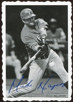 2012 Topps Archives Deckle Edge #4 Mike Napoli
