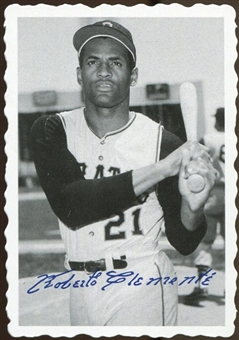 2012 Topps Archives Deckle Edge #12 Roberto Clemente