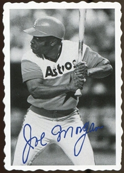 2012 Topps Archives Deckle Edge #15 Joe Morgan