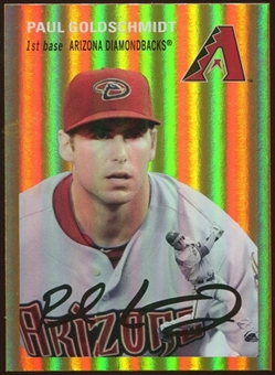 2012 Topps Archives Gold Foil #6 Paul Goldschmidt