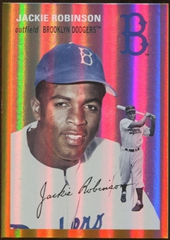 2012 Topps Archives Gold Foil #39 Jackie Robinson