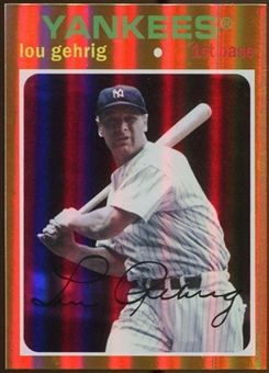 2012 Topps Archives Gold Foil #89 Lou Gehrig