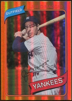 2012 Topps Archives Gold Foil #138 Joe DiMaggio