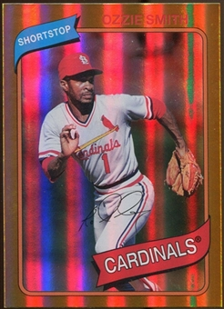 2012 Topps Archives Gold Foil #142 Ozzie Smith