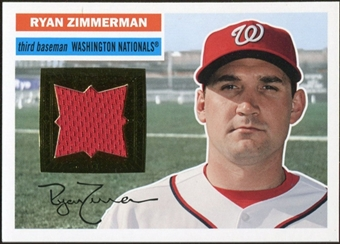 2012 Topps Archives Relics #RZ Ryan Zimmerman