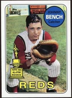 2012 Topps Archives Reprints #95 Johnny Bench