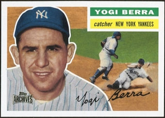2012 Topps Archives Reprints #110 Yogi Berra