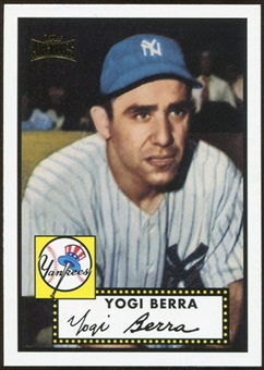 2012 Topps Archives Reprints #191 Yogi Berra