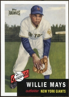 2012 Topps Archives Reprints #244 Willie Mays