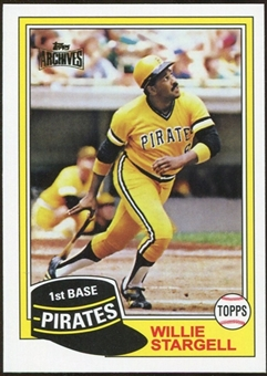 2012 Topps Archives Reprints #380 Willie Stargell