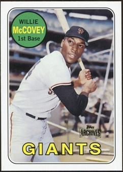 2012 Topps Archives Reprints #440 Willie McCovey
