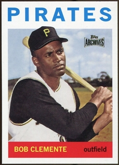2012 Topps Archives Reprints #440 Roberto Clemente