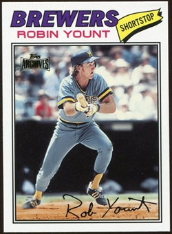 2012 Topps Archives Reprints #635 Robin Yount