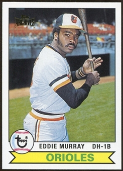2012 Topps Archives Reprints #640 Eddie Murray