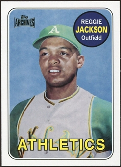 2012 Topps Archives Reprints #260 Reggie Jackson