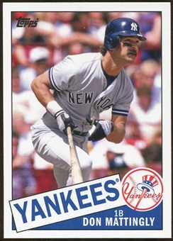 2012 Topps Archives #201 Don Mattingly SP