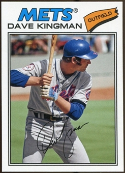 2012 Topps Archives #206 Dave Kingman SP