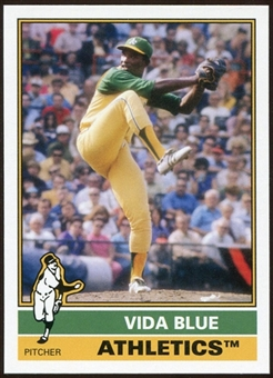 2012 Topps Archives #207 Vida Blue SP