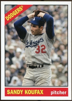 2012 Topps Archives #210 Sandy Koufax SP