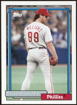 2012 Topps Archives #214 Mitch Williams SP