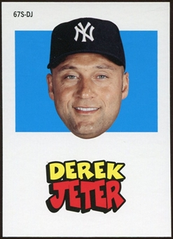 2012 Topps Archives Stickers #DJ Derek Jeter