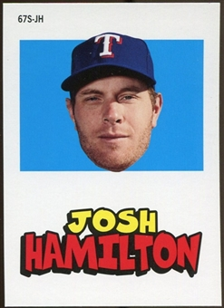 2012 Topps Archives Stickers #JH Josh Hamilton