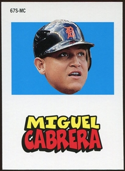 2012 Topps Archives Stickers #MC Miguel Cabrera