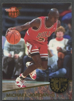 1992/93 Ultra #4 Michael Jordan All-NBA