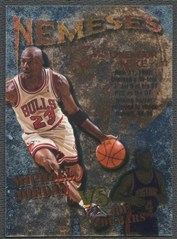 1995/96 Stadium Club #N10 Michael Jordan & Joe Dumars Nemeses