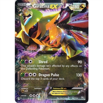 Pokemon Dragons Exalted Single Giratina ex 92/124