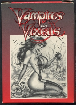 Vampires and Vixens Complete Set (1994 The Illustration Studio)