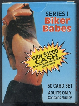 Biker Babes Series 1 Complete Set (1993 TS Publications)