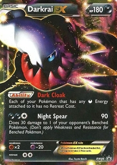 Pokemon Promo Single Darkrai ex BW46 - NEAR MINT (NM)