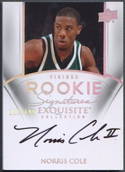 2011/12 Exquisite Collection #81 Norris Cole Rookie Auto #112/199