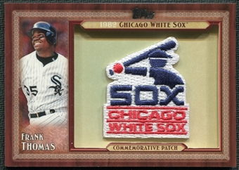 2011 Topps Commemorative Patch #FT Frank Thomas Update