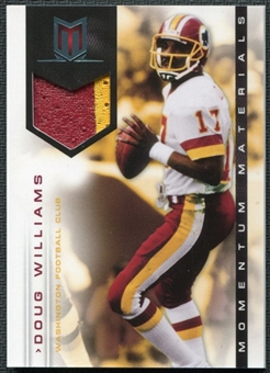 2012 Panini Momentum Materials Prime #45 Doug Williams 45/49 Patch