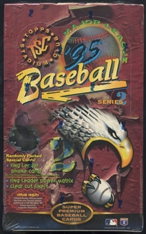 1995 Topps Stadium Club Series 2 Baseball Retail Box