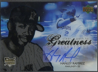 2006 Upper Deck Future Stars #98 Hanley Ramirez Rookie Auto SP