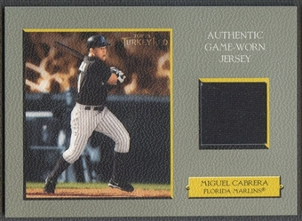 2005 Topps Turkey Red #MC Miguel Cabrera Relics Jersey