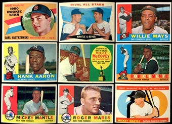 1960 Topps Baseball Complete Set (EX/MT - NM)
