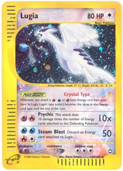 Pokemon Aquapolis Single Lugia 149/147