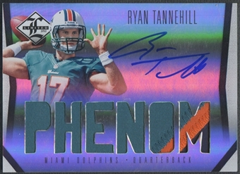 2012 Limited #204 Ryan Tannehill Rookie Patch Auto #198/199