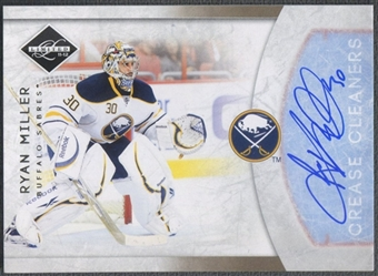 2011/12 Limited #17 Ryan Miller Crease Cleaners Signatures Auto #30/99
