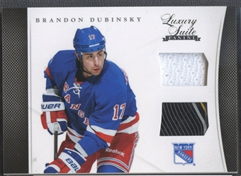 2011/12 Luxury Suite #15 Brandon Dubinsky Jersey Stick