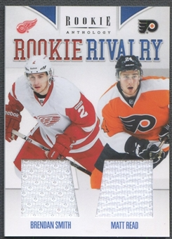 2011/12 Panini Rookie Anthology #57 Brendan Smith & Matt Read Rookie Rivalry Dual Jersey