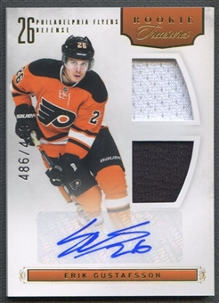 2011/12 Panini Rookie Anthology #149 Erik Gustafsson Rookie Jersey Auto #486/499