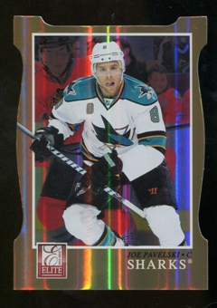 2011/12 Panini Elite Status Gold #14 Joe Pavelski /99