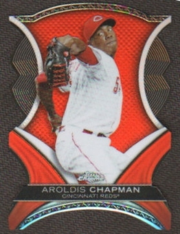 2012 Topps Chrome Dynamic Die Cuts #AC Aroldis Chapman