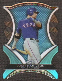 2012 Topps Chrome Dynamic Die Cuts #JH Josh Hamilton