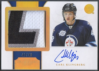 2011/12 Dominion #182 Carl Klingberg Rookie Patch Horizontal Auto #42/48